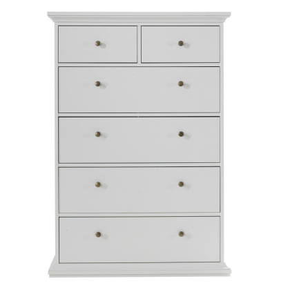 Pairs Chest of 6 Drawers